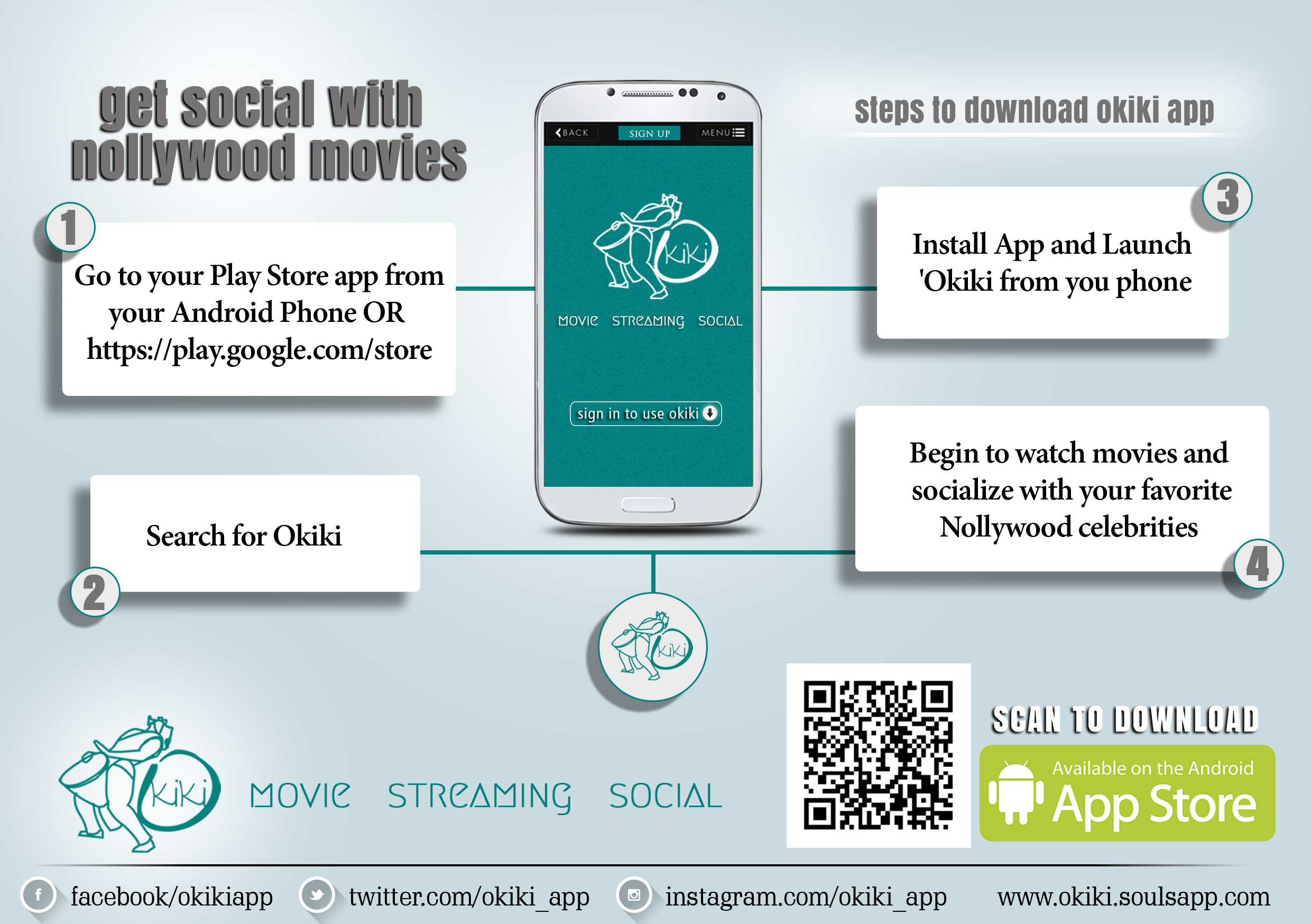 how-to-download Okiki App for Nollywood movies