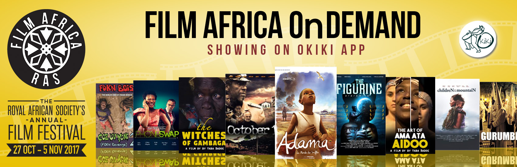 OkikiApp partners with Film Africa OnDemand
